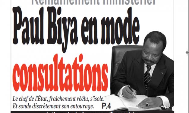Cameroun : Journal Infomatin parution 16 novembre 2018