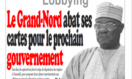 Cameroun : Journal Infomatin parution 23 novembre 2018