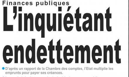 Cameroun : Journal le jour parution 14 novembre 2018