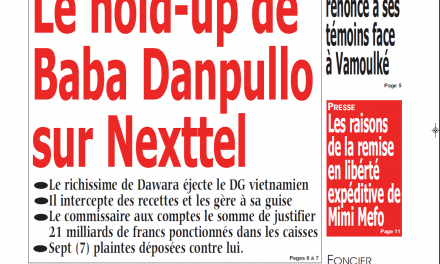 Cameroun : Journal Kalara parution 12 novembre 2018