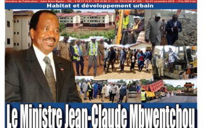 Cameroun : Journal le Pélican parution 21 novembre 2018