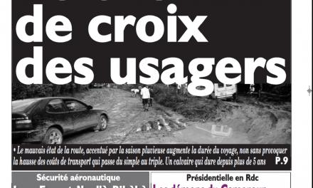 Cameroun : Journal le messager parution 14 novembre 2018