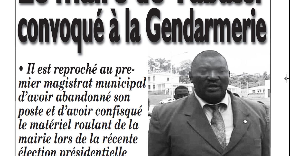 Cameroun : Journal Le messager parution 21 novembre 2018