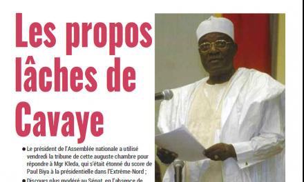 Cameroun : Journal Mutations parution 05 novembre 2018
