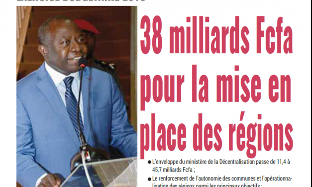 Cameroun : Journal Mutations parution 20 novembre 2011