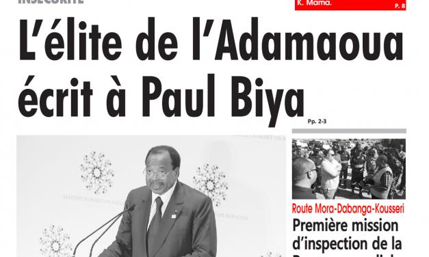 Cameroun : Journal l'œil du sahel parution 14 novembre 2018