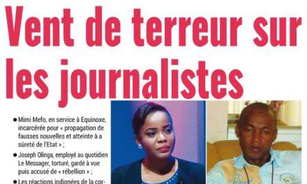 Cameroun : Journal mutation parution 09 novembre 2018