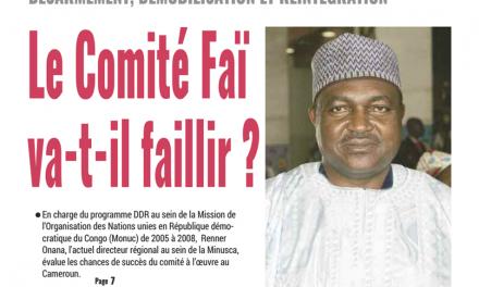 Cameroun : Journal mutations, parution du mardi 22 Janvier 2019
