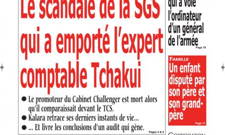 Cameroun : Journal kalara, parution du 25 Janvier 2019