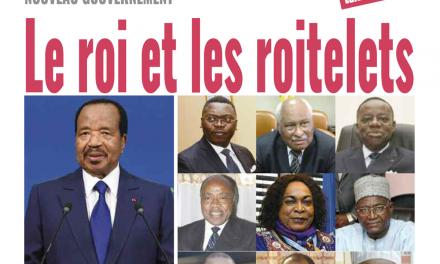 Cameroun : Journal mutations, parution du 07 Janvier 2019