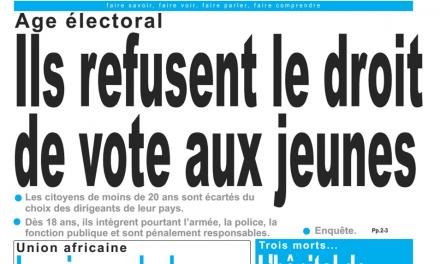 Cameroun : le jour, parution du 12 Février 2019