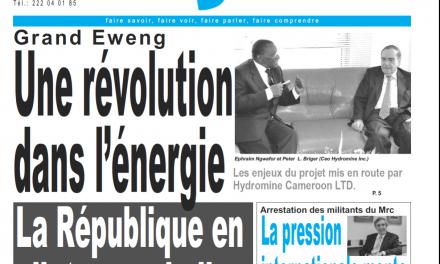 Cameroun : journal le jour du 25 Février 2019