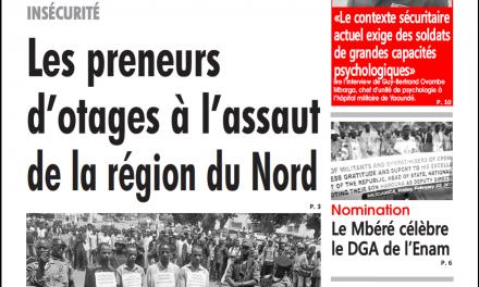 Cameroun : journal l'œil du sahel du 25 Février 2019