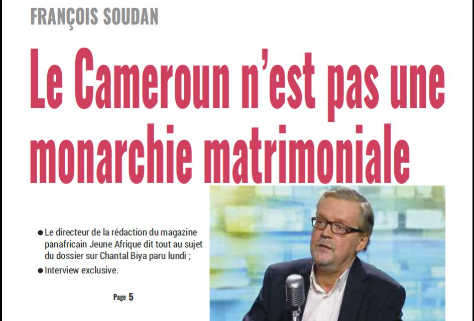 Cameroun : journal mutations du 20 Février 2019