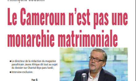 Cameroun : journal le jour du 20 Février 2019