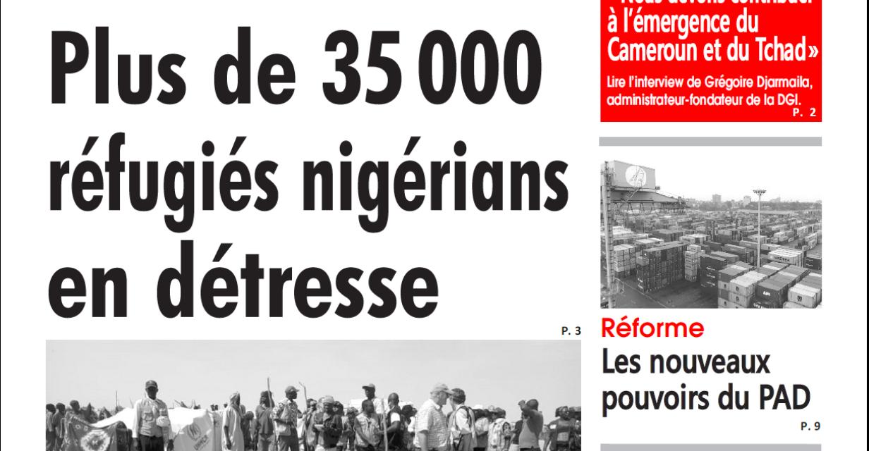 Cameroun : l'œil du sahel, parution du 4 février 2019