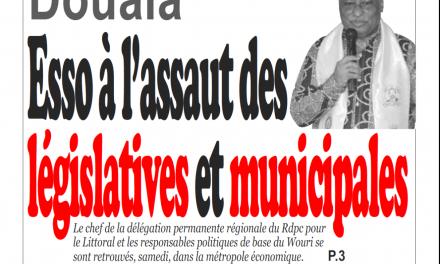 Cameroun : journal infomatin du 25 Février 2019