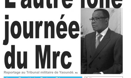 Cameroun : journal Kalara du du 12 Février 2019