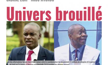 Cameroun : journal mutations du du 28 Février 2019